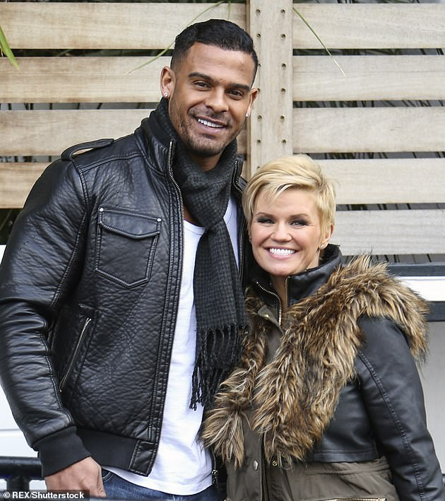 Failed relationship: Kerry was married to George Kay from 2014 until 2017, who sadly died from an overdose last year aged 39 (pictured in 2015)