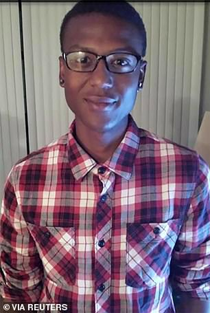 Elijah McClain, 23, died after being stopped on the street and put into a chokehold in the Denver suburb of Aurora on August 24, 2019