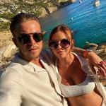 Shelby Tribble displays blooming bump as the TOWIE star says her baby is due in just 9 weeks