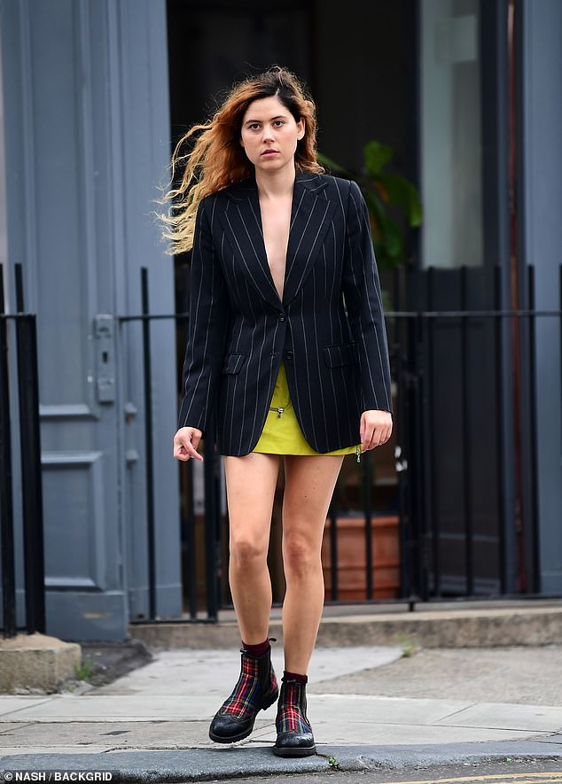 Stunner: Eliza Doolittle proved she still has all the makings of a pop star as she posed up a storm during a photoshoot in London on Wednesday