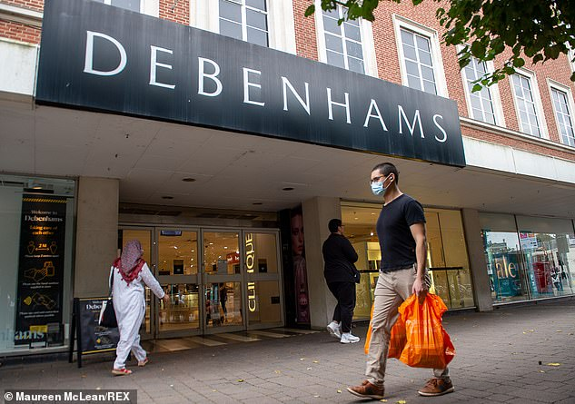 This month it was revealed Debenhams was set to axe 2,500 jobs across its stores and warehouses