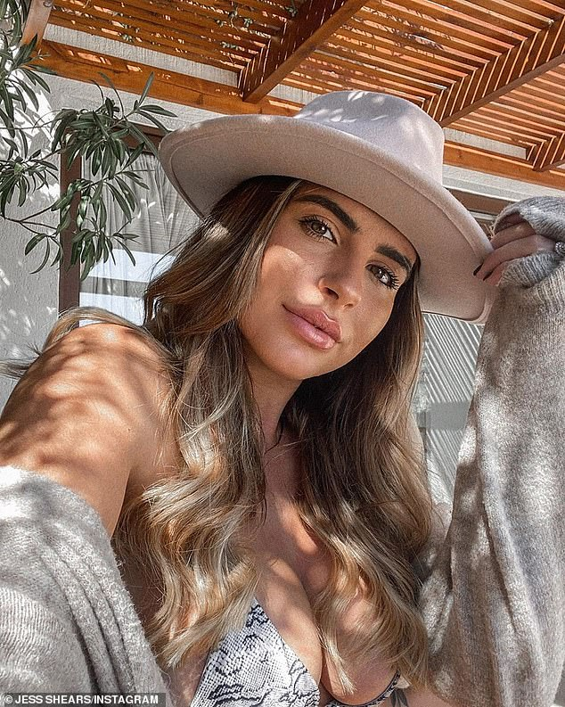 The Love Island star has been looking sensational as she has displayed her curves in a snakeskin bikini that left little to the imagination