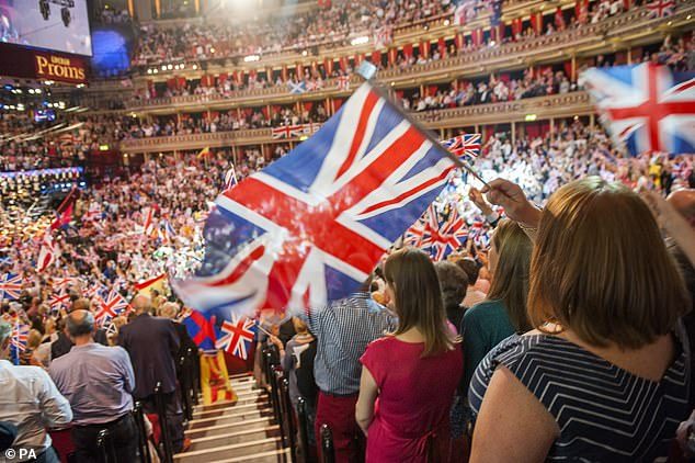 Mr Davie had reversed the BBC ban on patriotic anthems at the Last Night of the Proms
