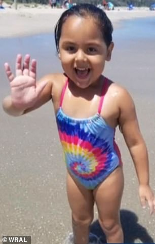 The body of Alexa Castro, 5, was pulled from a North Carolina creek on Wednesday, less than 48 hours after she was swept away by flood waters