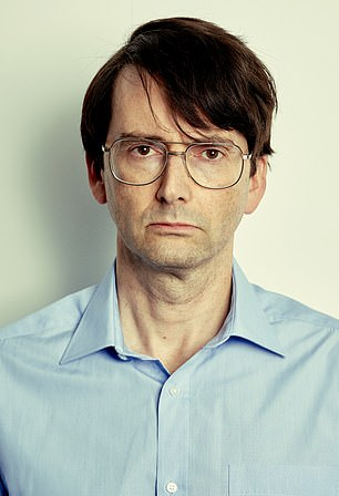 Transformation: David Tennant is back on TV screens this month, playing serial killer Dennis Nilsen in ITV's new drama Des, which airs from September 14
