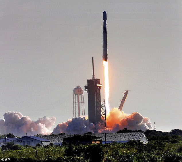 SpaceX's Starlink satellite constellation grew a little larger Thursday morning, as the firm added 60 more devices to the network. The Falcon 9 rocket took off at 8:46am ET from Launch Complex 39-A at Kennedy Space Center carrying the new batch of broadband satellites