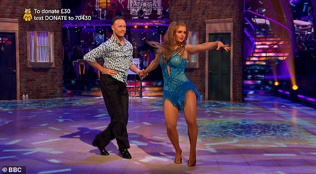Admission:EastEnders star Maisie Smith has admitted that she has dancing experience ahead of appearing on the 2020 series of Strictly Come Dancing (pictured with Kevin Clifton on the Children In Need special of Strictly in November)