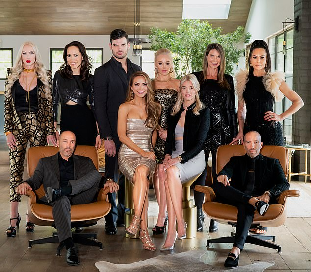 The drama is intense: She came to fame on the reality TV show Selling Sunset which also featuresChristine Quinn, Maya Vander, Mary Fitzgerald, Romain Bonnet, Heather Rae Young, Davina Potratz, Amanza Smith, Jason and Brett Oppenheim