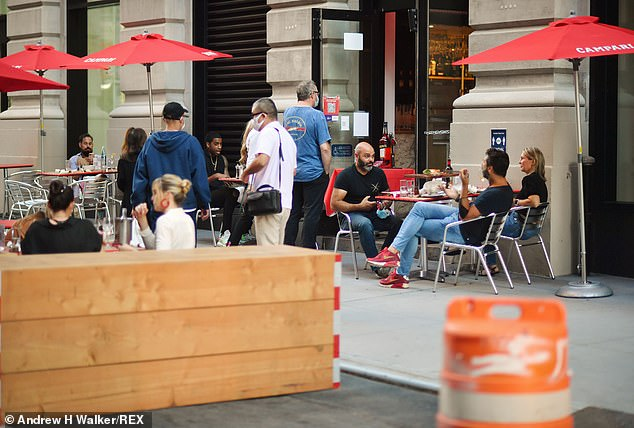 There is currently no plan for when indoor dining can resume across the city despite restaurants in the rest of the state and neighboring New Jersey being allowed to welcome diners inside again