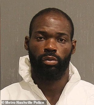 David Williams, 27, has been charged with criminal homicide after police in Nashville say he admitted to striking a man with a machete