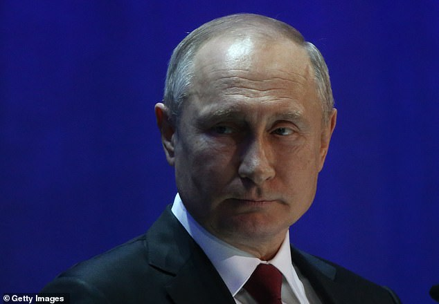 Western governments have their own radio sets turned up to full volume, in ignoring the murders commissioned by Vladimir Putin (pictured) in the 20 or so years he has been in power