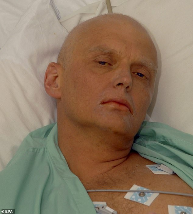 Alexander Litvinenko, a former lieutenant-colonel in the FSB, the successor to the KGB, waspoisoned with radioactive Polonium-210 that was slipped into his green tea