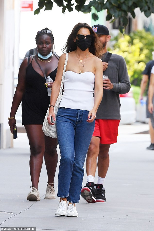 Big Apple babe! Katie Holmes put her inner fashionista on full display while out in New York City on Thursday