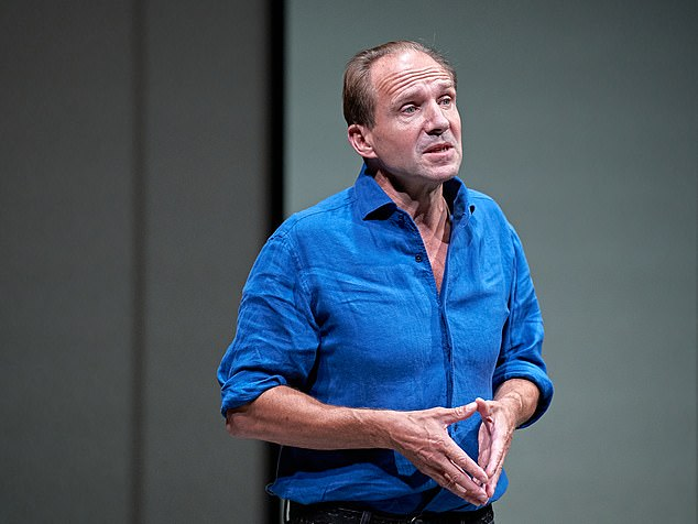 At the Bridge Theatre, on London's South Bank, Ralph Fiennes is taking on the devil of Covid-19 in a new monologue by 73-year-old Leftist playwright Sir David Hare