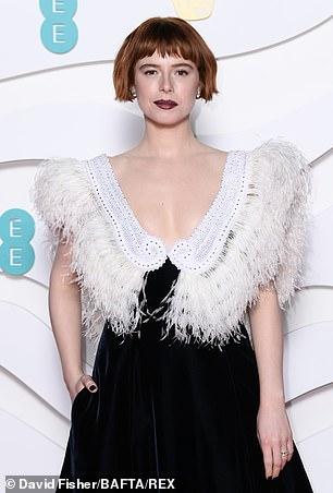 Jessie Buckley at the 73rd British Academy Film Awards