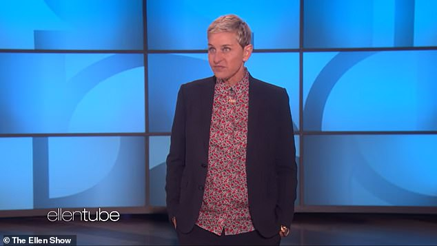 Gone: Warner Bros. Television announced last month that three senior producers had been fired from Ellen's show: Ed Glavin, one of the executive producers; Jonathan Norman, a co-executive producer; and Kevin Leman, the show's head writer