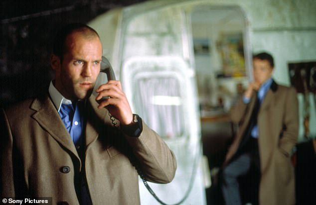 Iconic: Statham played Turkish in Ritchie's 2000 masterpiece Snatch