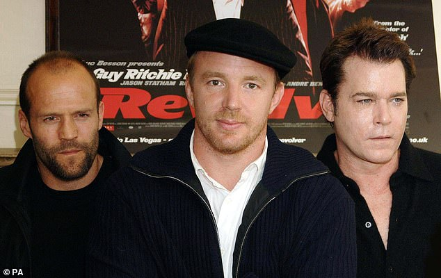 Good fellas: Statham and Ritchie were pictured in London in 2005 with Revolver collaborator Ray Liotta