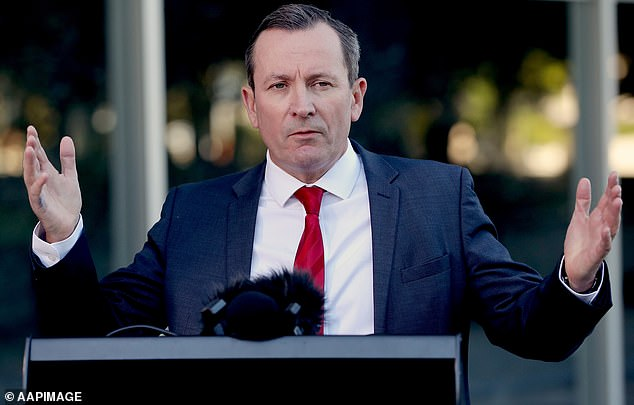 WA Premier Mark McGowan (pictured) has flat-out refused to open his borders to any jurisdiction