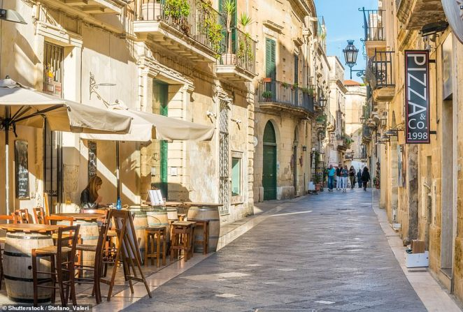 As well as having beautiful buildings, Lecce also allows visitors to eat like a true Puglian, says Dominic Midgley, who visited the Italian city