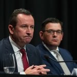 WA Premier Mark McGowan slams 'latte and Pinot Grigio-sipping' critics from Sydney over hard border