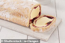 The Arctic Roll sparked the bizarre row