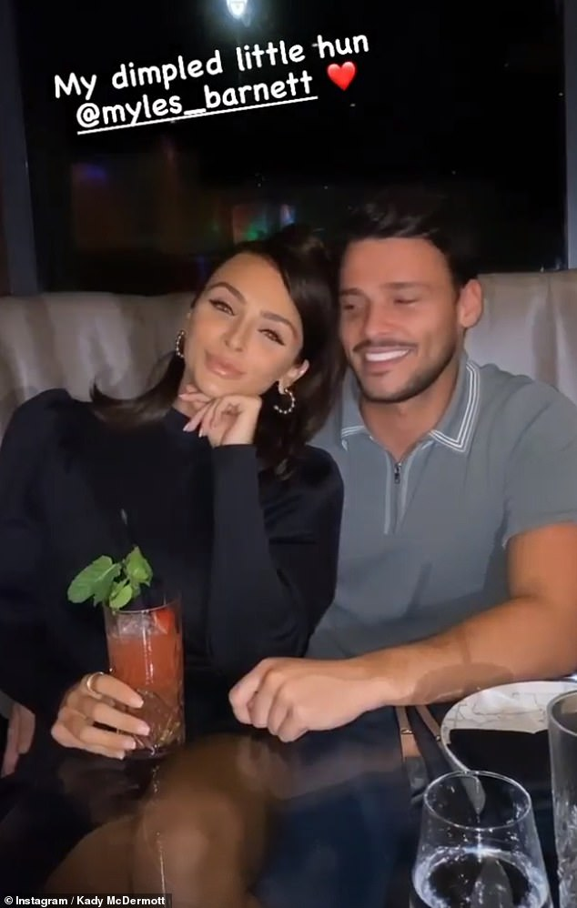 On and off: Last June, Kady left fans confused after announcing she was still with Myles and that they would live in their new home 'as a couple', weeks after confirming another 'break-up'