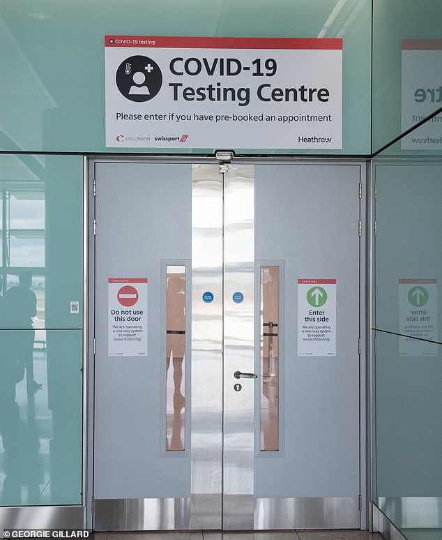 Heathrow's new cover testing facility allows passengers to book an appointment to be tested for coronavirus airside before baggage reclaim