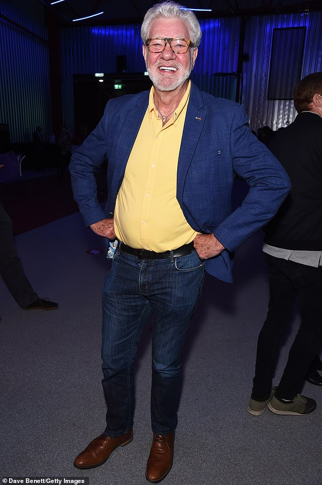 Known as the king of Saturday night TV when he presented hit shows such as Stars In Their Eyes and Game For A Laugh, Matthew Kelly (pictured atthe press night performance of Sleepless: The Musical at the Troubadour Wembley Park Theatre) has turned down the chance to win a new generation of fans by competing on Strictly Come Dancing