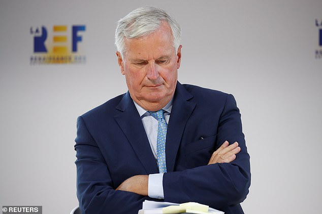 The EU is set to sideline Michel Barnier (pictured) to try to crack the Brexit negotiations deadlock, it was reported tonight