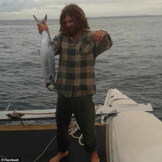 The fisherman (pictured) is understood to have posted a message to a local Facebook group apologising to people he had 'hurt or let down'