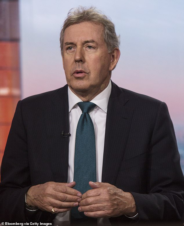 Lord Darroch has claimed the Prime Minister helped force his abrupt exit from his role as the Britain¿s most important diplomat when he was under attack from Mr Trump