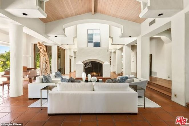 Natural light: Both houses are flooded with natural light, featuring white walls, Saltillo tiled floors and beamed ceilings