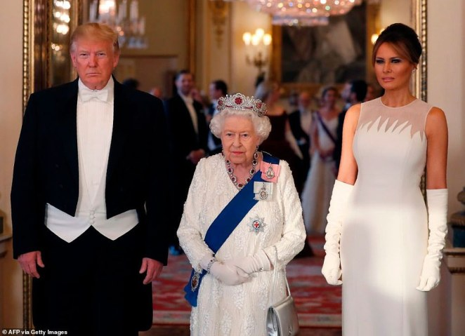 Mr Trump instead stayedstayed in Winfield House, the US ambassador's residence in Regent's Park, during his state visit but there were concerns the nearby mosque would wake the President in the morning