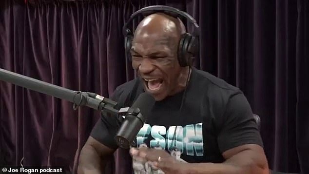 The ex-WBA, WBC and IBF title holder made the stunning confession on the Joe Rogan podcast