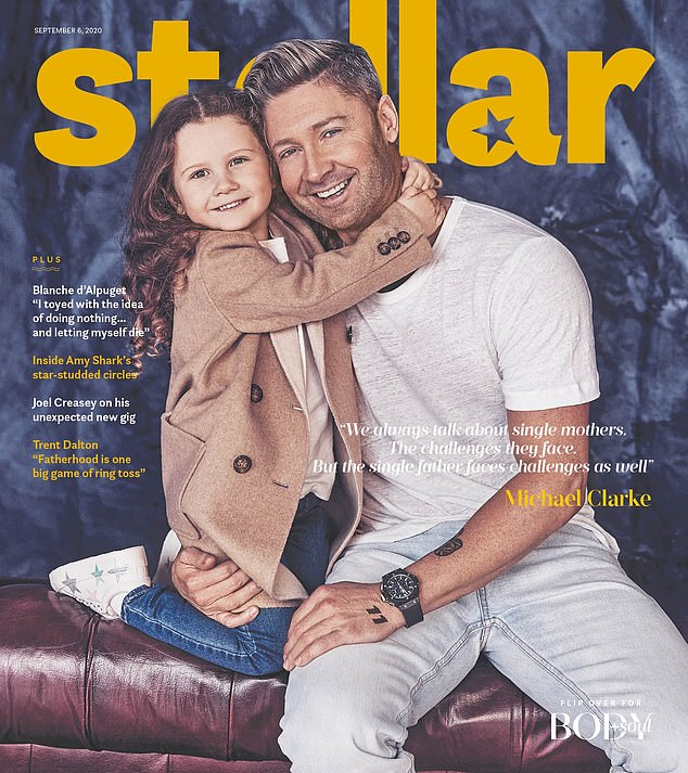 'I could tell from the woman's face while she as doing it that the news wasn't good,' she exclusively told Stellar magazine (pictured)