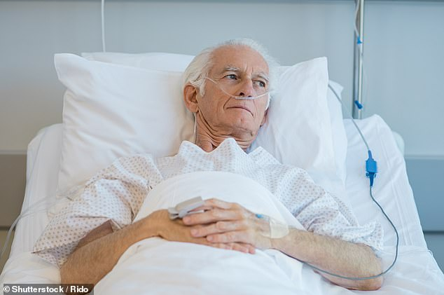 Some patients have been told they will only get to see their families in person if they are about to die
