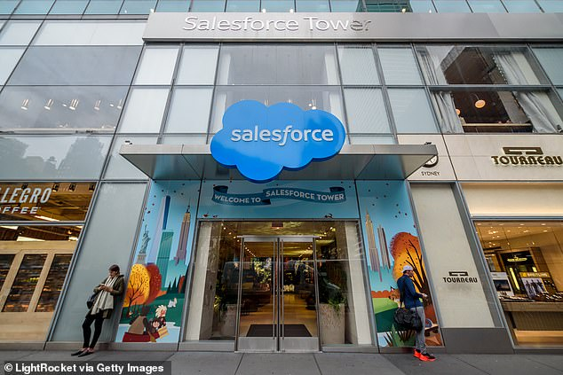 Salesforce has also seen its policies for childcare leave questioned by childless employees