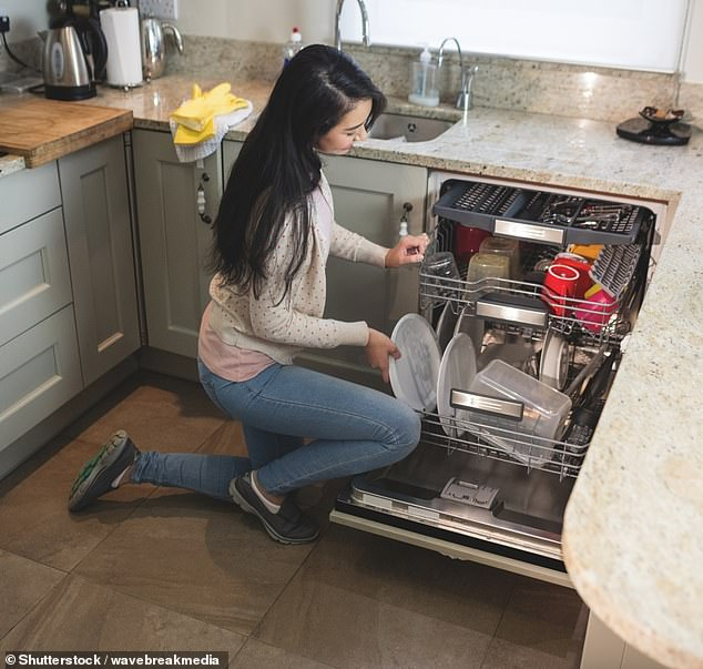 The trick puts an end to splashback and spillages on the kitchen floor once and for all (stock image)