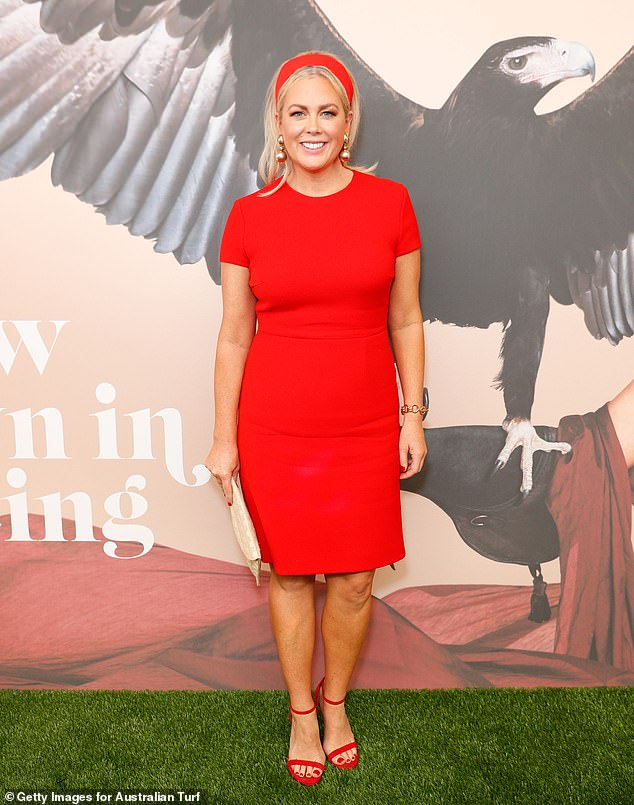 Busy: Sunrise's Sam Armytage, 44, has reveals the details of her emotional move after selling up her multi-million dollar Bondi pad in her Stellar magazine column. Here: November, 2019