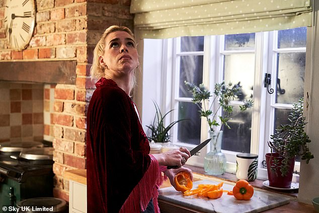 Writer: Billie stars as the main character and co-wrote the series with playwright Lucy Prebble