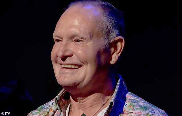 The photo showed Gascoigne sitting in the ITV Life Stories audience (pictured) on Monday, and knowing he wasn't home, burglars broke in
