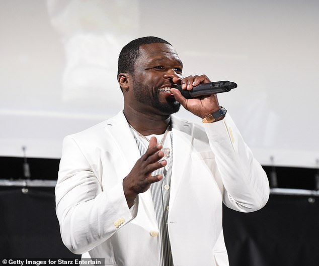 Curtis '50 Cent' Jackson hosted a special outdoor series premiere of the new Starz series Power Book II: Ghost in the exclusive Hamptons neighborhood on Saturday