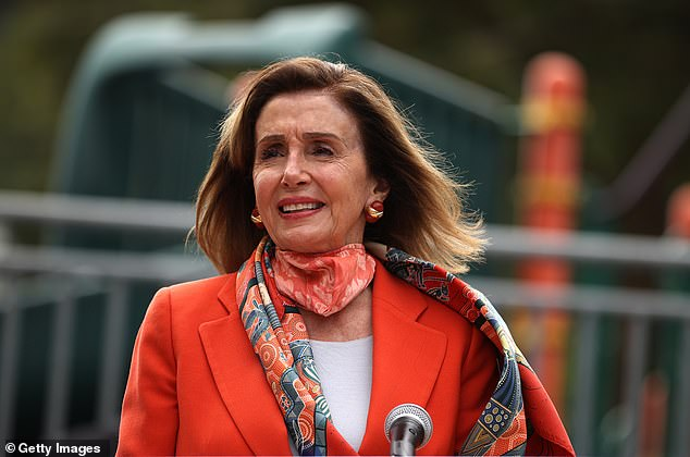 Pelosi became the target of widespread ridicule last week after video of her not wearing a mask inside the salon - which was closed due to local coronavirus restrictions - was leaked