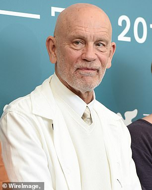 John Malkovich's son was arrested at a protest in Portland , Oregon on Friday night.