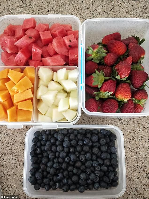 Others said their own parents had cut up fruit and vegetables for them as teens and this didn't make them 'spoilt', just appreciative later in life