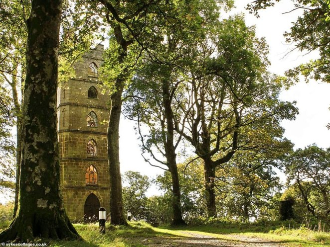 The tower is fully booked until November and the shortest available stay is for two nights, at a cost of £482