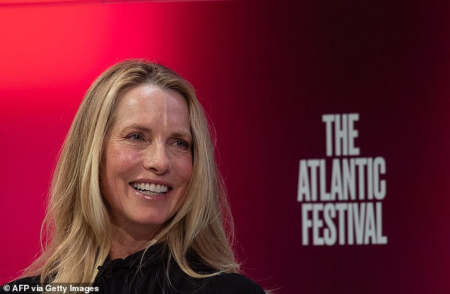 Laurene Powell Jobs photographed at The Atlantic Festival in Washington, D.C. in September 2019
