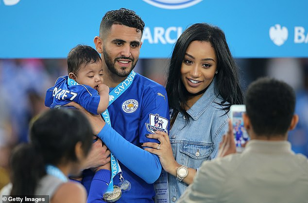 Riyad and Rita with their daughter Inaya in 2016. The couple are reportedly now living apart