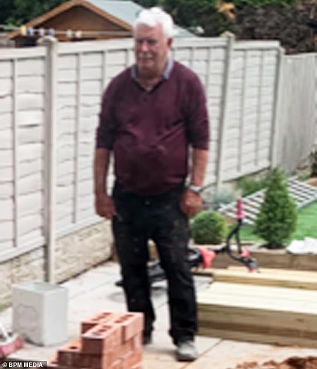 Mr Lewis claimsformer 2006'S Builder of the Year Mr Bodley (pictured), who appeared on Channel 4's Love It Or List, walked out on the job